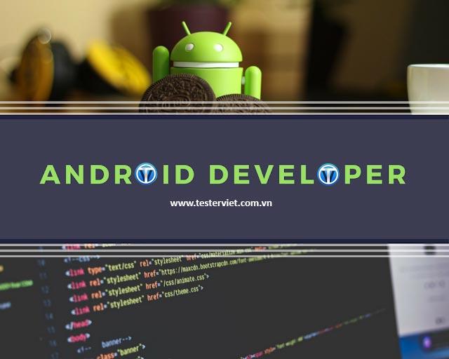Khóa học lập trình Android tại Tester Việt